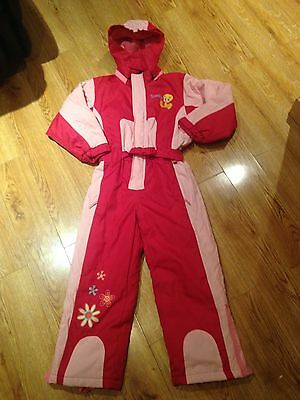 Girls Snowsuit Tweety Age 8 Years.  Fab Thick Quality