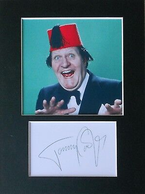 Tommy Cooper signed mounted autograph 8x6 photo print display  #2
