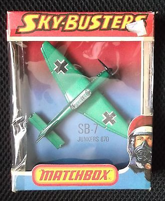 MATCHBOX SKYBUSTERS SB-7 JUNKERS 87D ( made in England )