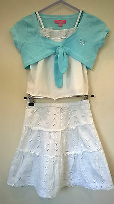 Tigerlily/ZeZe/George Aged 5-6  Girls 3 piece skirt/top/bolero outfit