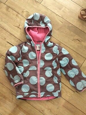 Girls Coat 5/6 Years Mini Boden