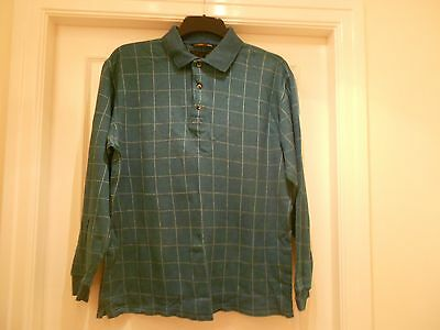 Mens Long Sleeved Golf Top Greg Norman Size L.