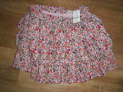 Girls Next pink floral layered, fully lined party skirt age 16 years bnwt £18 xx