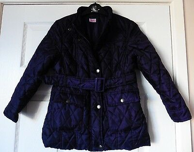 Girls F & F Quilted Jacket Age 7 - 8 Years