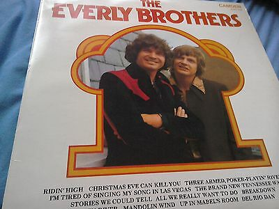 Rare vinyl lp the everly brothers self titled album camden cds 1142
