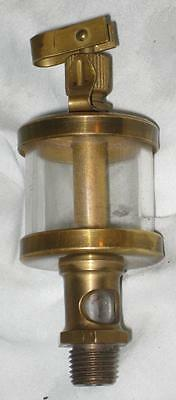 Small Brass Drip Oiler Lubricator for Hit & Miss or Steam Engine