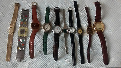 LOT 20 - OF MIXED WATCHES x 10 - SWATCH - SLAVA - ROCHEES - CONSTANT