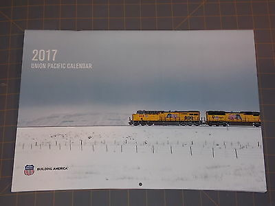 Union Pacific Railroad 2017 Corporate Official Wall Calendar Trains Scenes