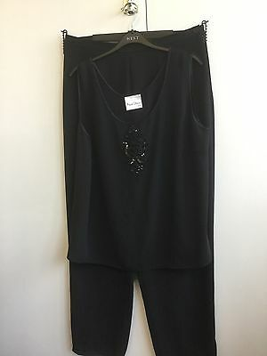 Frank Usher Evening top and trousers size 18