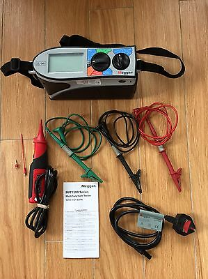 Megger MFT1552 Tester - Calibrated 5/10/16 - All Leads Included - A+++ Condition