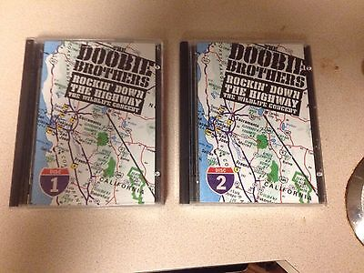 Doobie Brothers Rockin' Down The Highway album Mini disc RARE live greatest hits