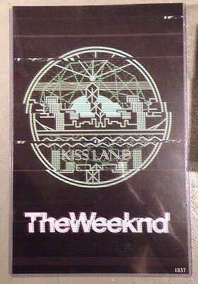 The Weeknd Kiss Land Print Ltd. Edtn. #1837, Release Day Promo HMV Canada, 2013