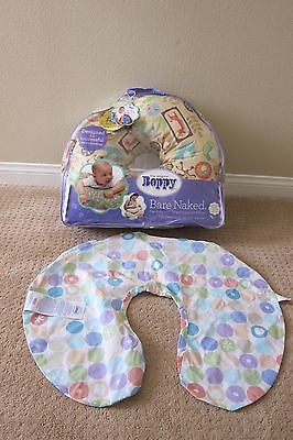 Boppy Nursing / Feeding & Infant Support Pillow (Jungle Patch) PLUS extra cover