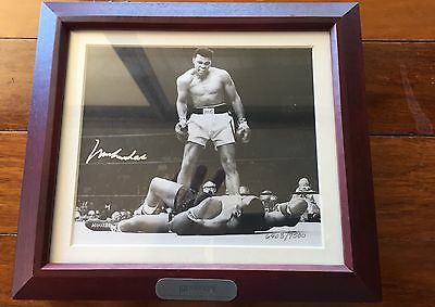Muhammad Ali Signed Watch Set Fossil Limited Edition Collectors Set