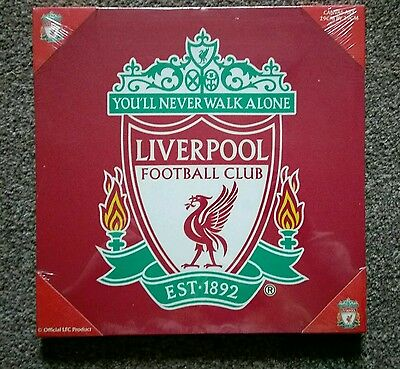 Liverpool Football Club badge canvas OFFICIAL PRODUCT