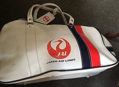 JAL JAPAN AIRLINES Vintage Sports Duffel Carry Bag