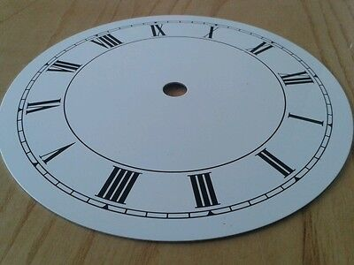 Clock Dial 150mm Roman Enam