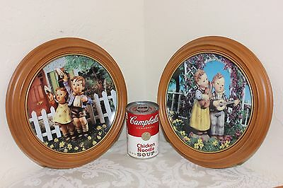 The Danbury Mint Hummel Decorative Plates, Little Companions, Framed, 9-3/4""