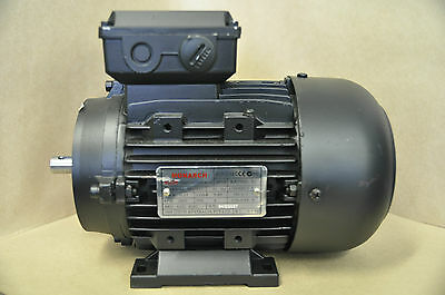 2800 RPM Electric Motor, Monarch, teco, .37kw .5hp 71 frame foot and flange