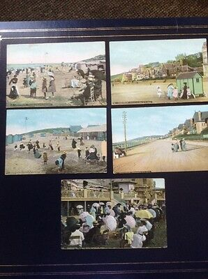 5 Postcards, Deauville And Trouville, France