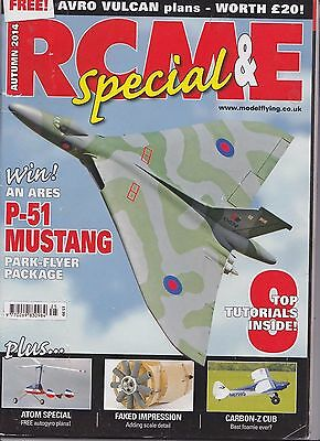 Rcm & E Special, Autumn 2014, With Avro Vulcan Plans By Tony Nijhuis.