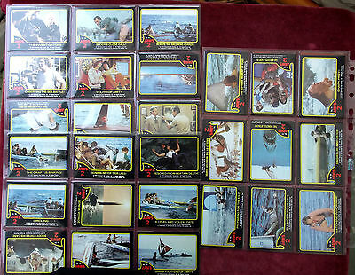 Jaws 2. 59 Trading Cards. Complete Set
