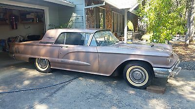 1960 Ford Thunderbird  1960 Ford Thunderbird 3498 ORIGINAL MILES! ONE OWNER! SHOWROOM CONDITION!