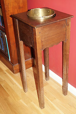 Vintage Mahogany Wine Cooler/Champagne Bucket Stand/Carrier or Planter 75 CMS H
