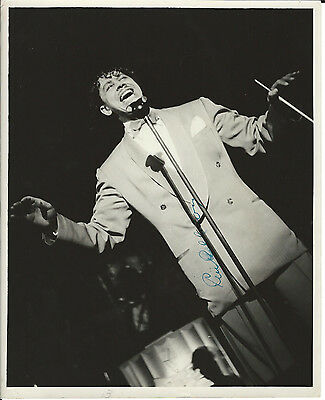 Cab Calloway - Live In Concert Photo, Signed & Unpublished