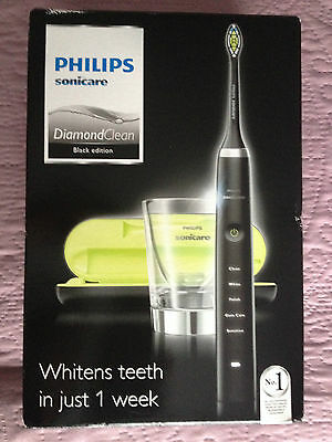 Philips Sonicare  Diamond Clean Black Edition Electric Toothbrush New