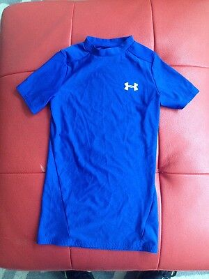 Under Armour youth small Heat Gear shirt