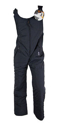 Kids Steiner Ski Skiing Snowboarding Salopettes Trousers (Black) 13 to 14 Years