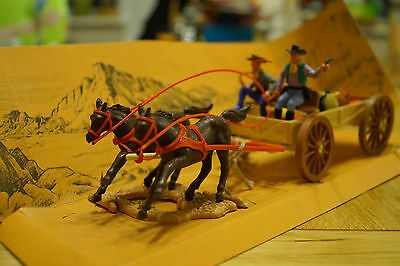 Timpo Wild West Buck Board Action model