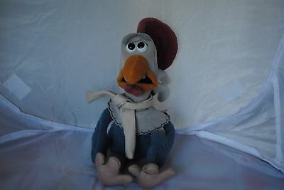 Chicken run Fowler soft toy