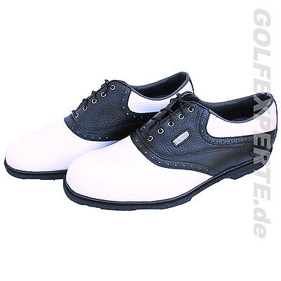 Footjoy Golf Hombre Zapatos De Golf Aql White / Black Impermeable