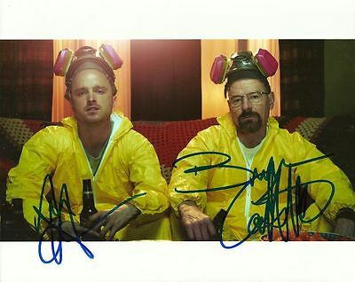 BREAKING BAD CAST   is a  8 BY 10 INCH AUTOGRAPHED PICTURE WITH A COA