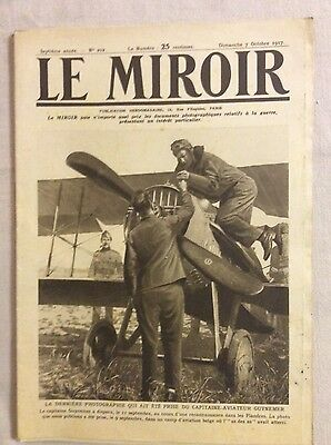 Le Miroir No.202 7th October 1917 World War I WWI French Wartime Magazine