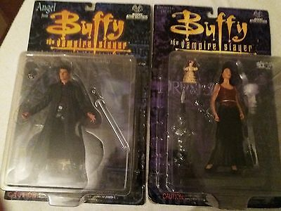 buffy the vampire slayer bundle deal ( moore action collectibles ANGEL & DRU )