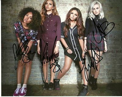 LITTLE MIX    is a  8 BY 10 INCH AUTOGRAPHED PICTURE WITH A COA
