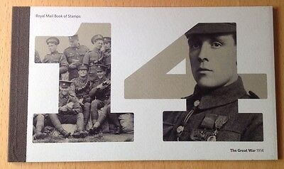 The Great War 1914 Prestige Booklet DY11 - Excellent Condition