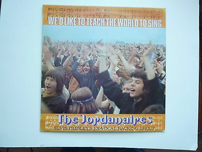 The Jordinaires- We'd Like to Teach... (Elvis Presley's backing band) 1972 Ex/Ex