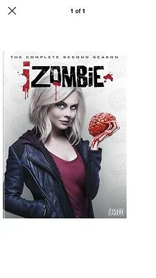 iZOMBIE Season 2 DVD The Complete Second Series Two BRAND NEW SEALED