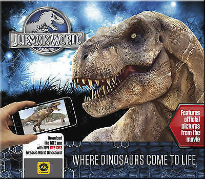 Jurassic World Where Dinosaurs Come to Life NEW by Caroline Rowlands (Hardback)