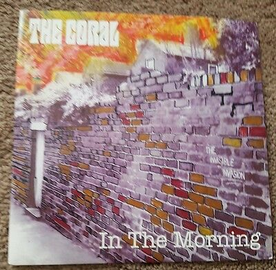 """The Coral in the morning UK 7"""" vinyl - Mint and Unplayed"""
