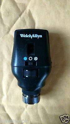 Welch Allyn Halogen Coaxial Ophthalmoscope 3.5V Head Only Model 11720
