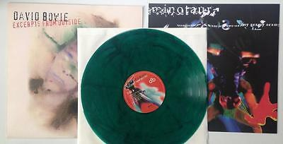 DAVID BOWIE V&A LIMITED EDITION GREEN VINYL -Excerpts From Outside