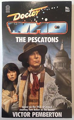 Dr Who - The Pescatons TARGET book MINT UNREAD FIRST EDITION doctor