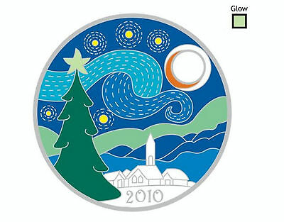 Pathtag 14809 Starry Christmas Night - Retired, Glow