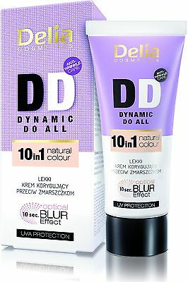 Delia Anti-Falten DD Creme 10in1 OPTISCHER BLUR EFFEKT Multifunktionale 30ml