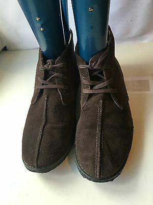 Clarks Desert Boots Suede Mens Brown Shoes Size 8 Bb